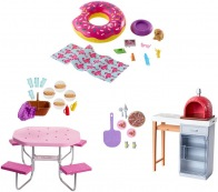 Mattel - Barbie Deluxe-Set Möbel & Puppe