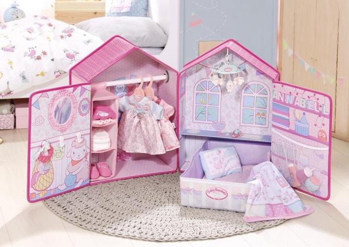 Zapf creation baby annabell schlafzimmer for Baby annabell schlafzimmer