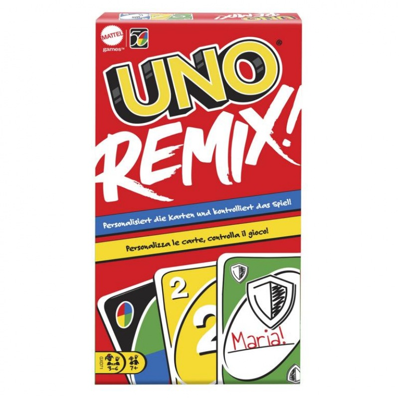 Mattel - UNO Remix Kartenspiel